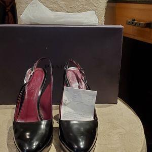 Size 6 strap heels